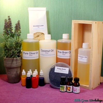 Exfoliant Soap Making Kit