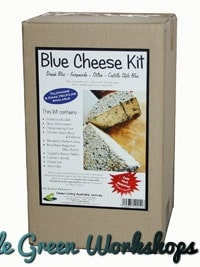 Blue Cheese making kit boxed