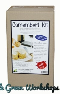 Camembert kit boxed