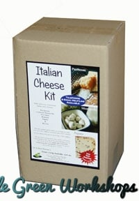 Italian Cheese Kit boxed