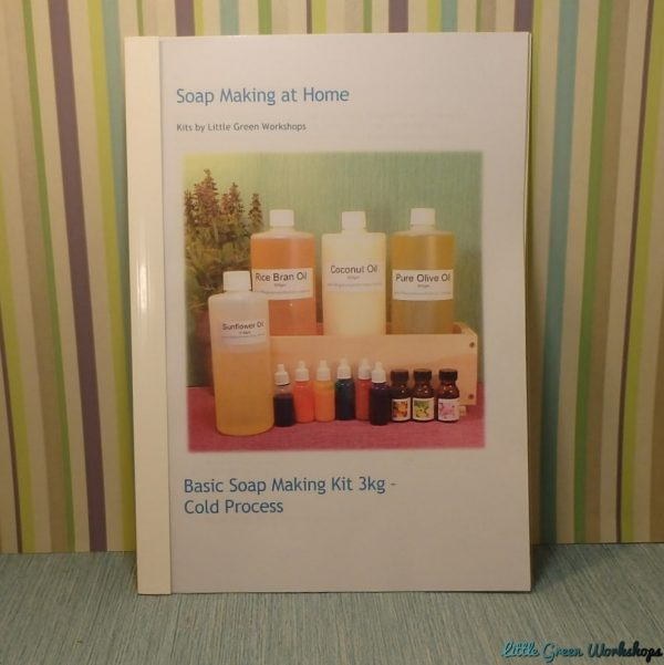 Basic Soap Making Kit Booklet
