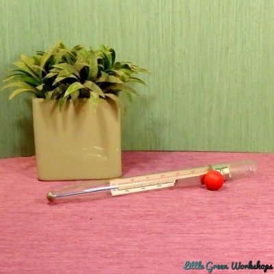 Craft thermometer - glass