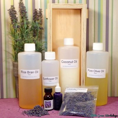 Lavender 1kg Soap Making Kit