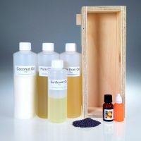 Orange Blossom Scrub Soap Making Kit 1kg