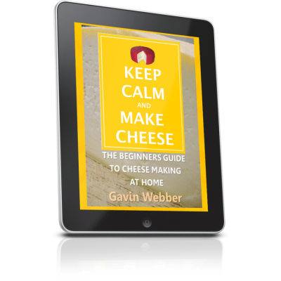 Keep Calm and Make Cheese Square
