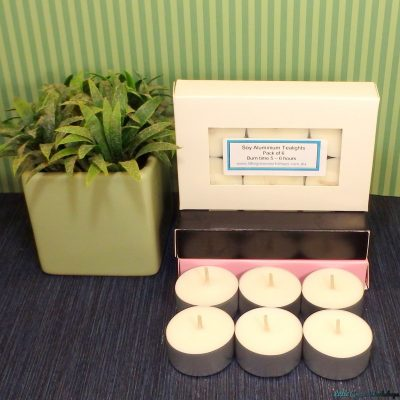 EcoSoya wax tealights