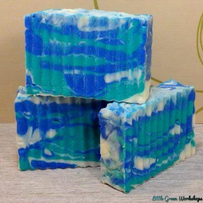 Deep Ocean Blue Soap