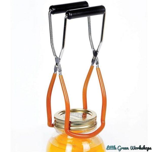 Jar lifter with jar