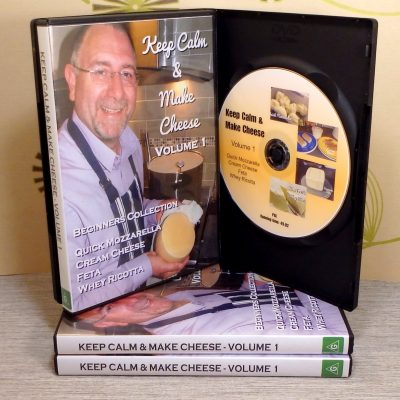 Keep Calm & Make Cheese DVD