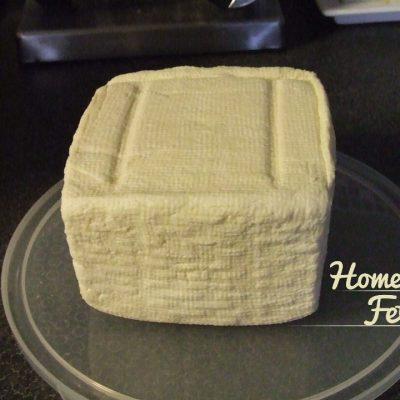 How to make feta style cheese
