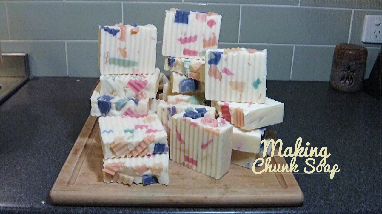 How to Make Chunk soap
