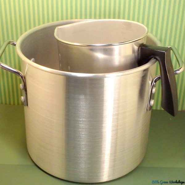 Double Boiler with Wax Melting Jug