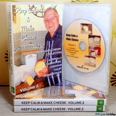 Cheesemaking DVD Vol 2
