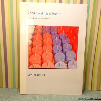 Soy Tealight Kit Booklet