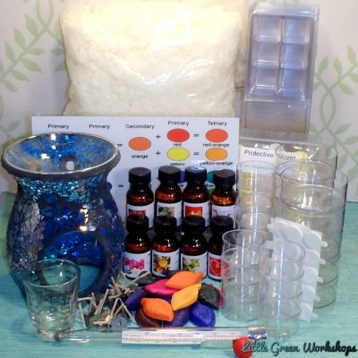 Mega Soy Tealight and Melt Kit