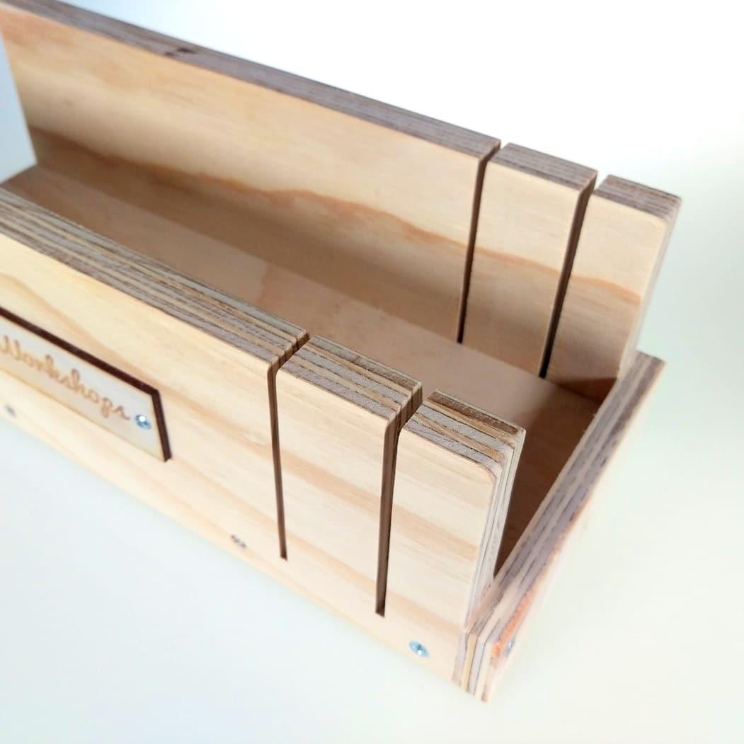 Wood Soap Cutting Box