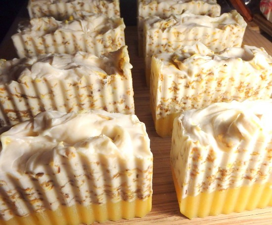 Lemon Cream Pie Soap 2
