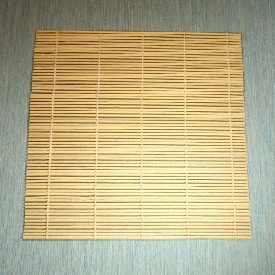 Bamboo draining mat