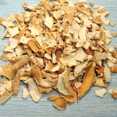 Lemon Peel Organic close