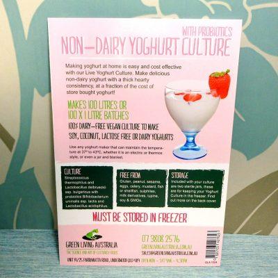 Non Dairy Yoghurt Culture