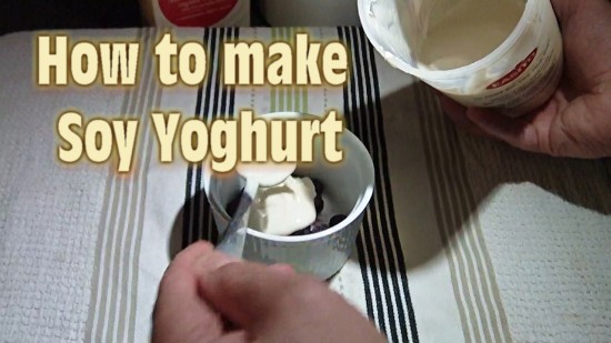 How to Make Soy Yoghurt