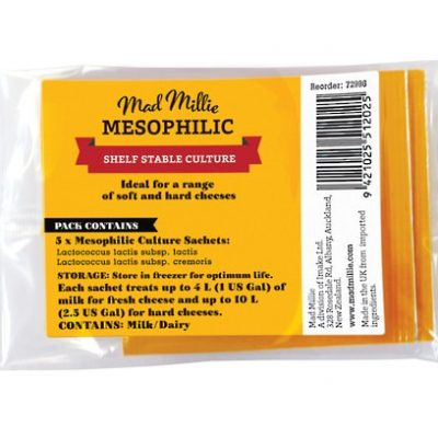 Mesophilic Culture 5 Pack