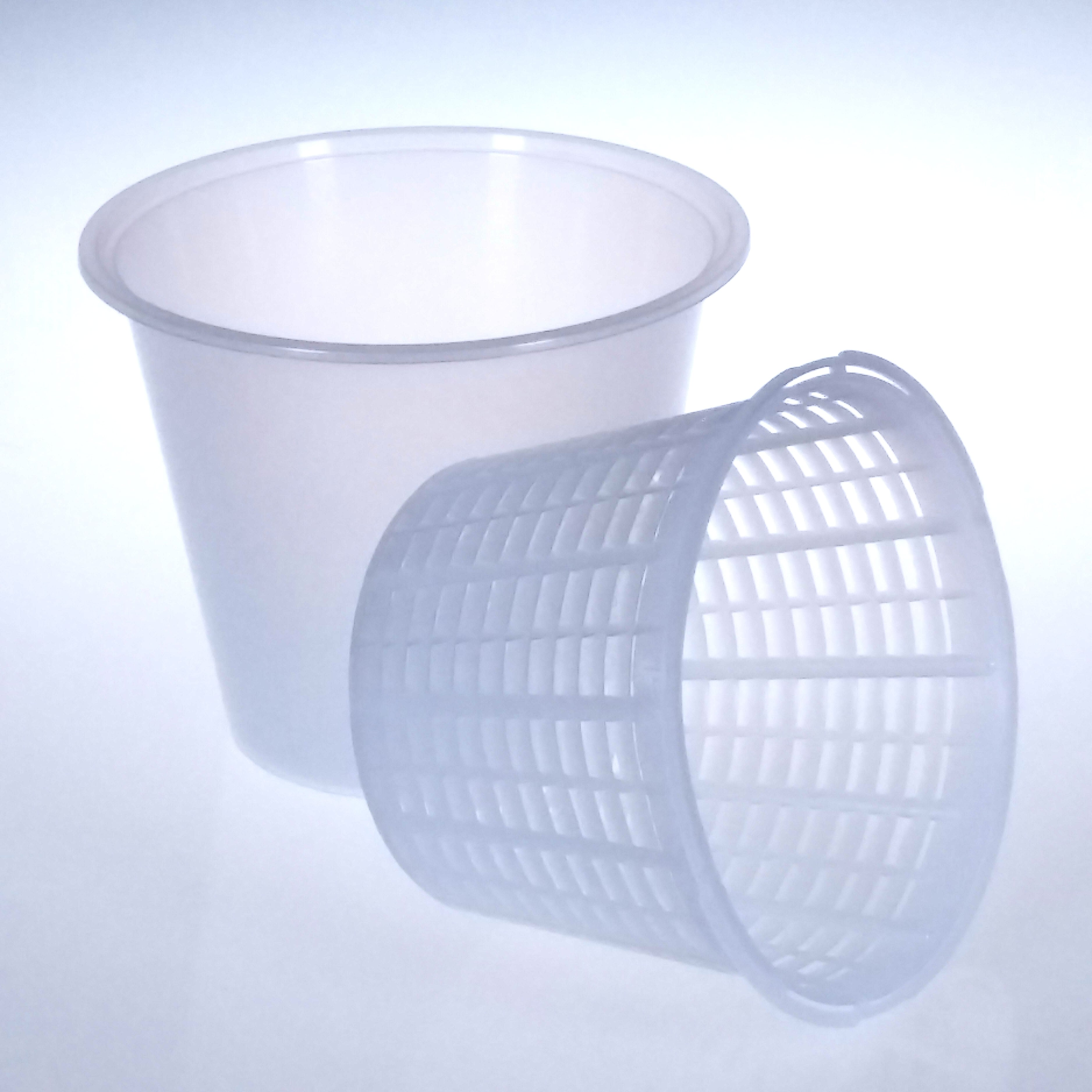 Large Soft Cheese Ricotta Cheese Mold with Container /& Basket