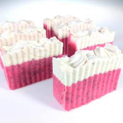 Raspberry Cream Pie Soap