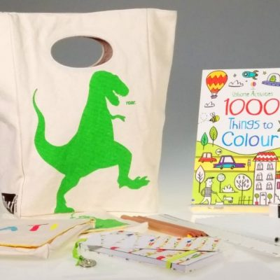 Cool for School T-Rex Gift Box