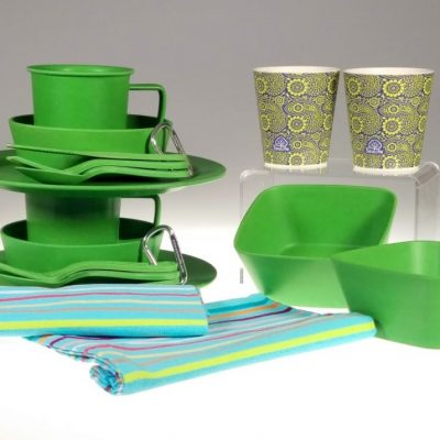 Green Picnic for Two Gift Box