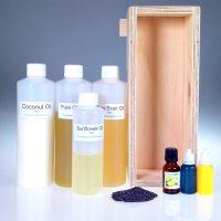 Lemongrass and Persian Lime Scrub Kit