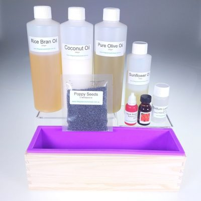 Strawberry Scrub Soap Making Kit