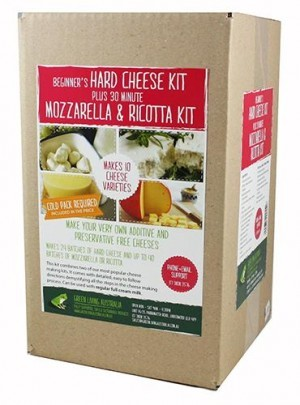 Hard Cheese / 30 Minute Mozzarella and Ricotta Combo Kit