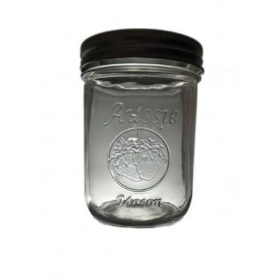 Wide Mouth 500ml Mason Jar