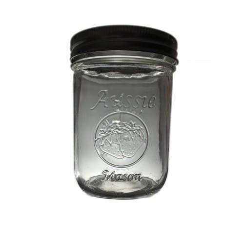 Wide Mouth 500ml Mason Jar