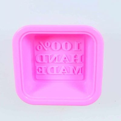 100% handmade silicone mould