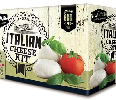 Fresh Italian Cheese Kit box