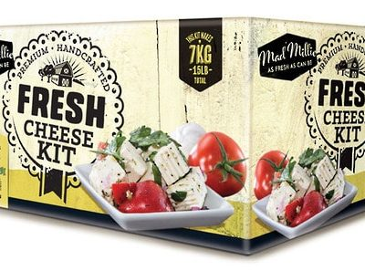 Mad Millie Fresh Cheese Kit Box