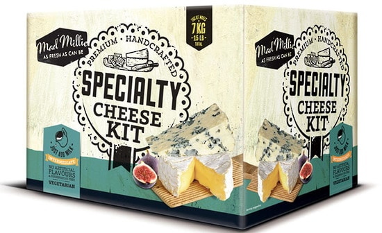 Mad Millie Specialty Cheese Kit box
