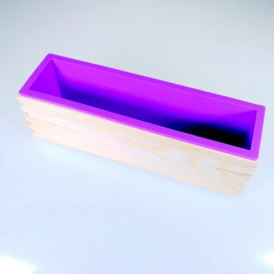 Wooden Soap Mould with Silicone Lining 1kg