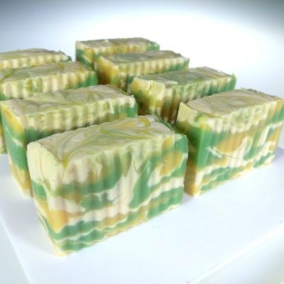 coconut lime punch soap