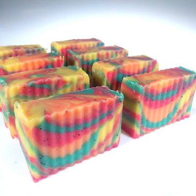 Fruit Basket Handmade Soap