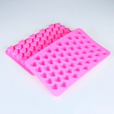 Mini Heart 55 Cavity Silicone Mould