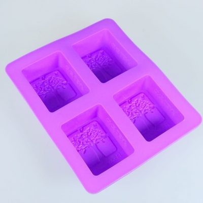 One Leaf silicone soap mould