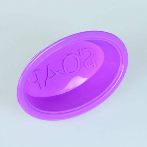 Oval Silicone Soap Mould