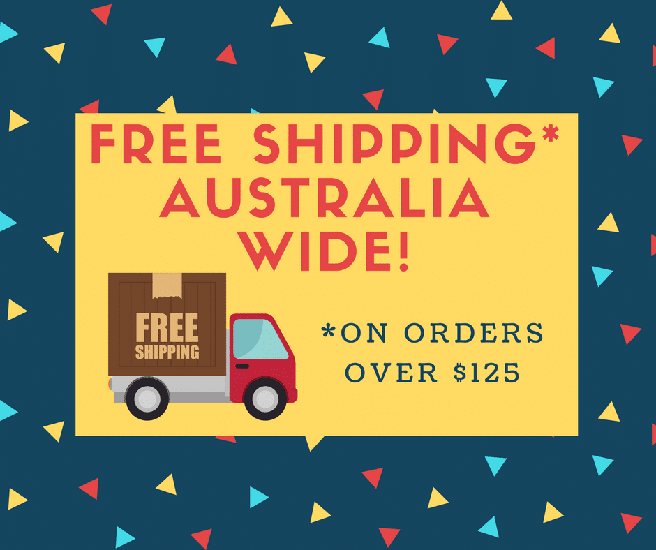 Free Shipping Australia-Wide