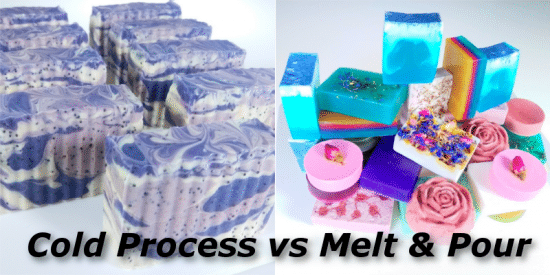 Cold Process Soap vs Melt and Pour Soap