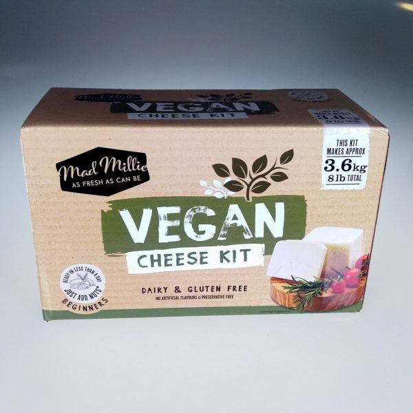 Vegan cheese kit box