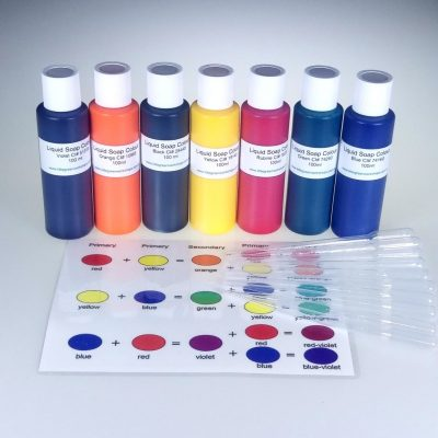 Liquid Soap Colour Super Mega Pack