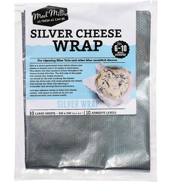 Silver wrap 10 pack
